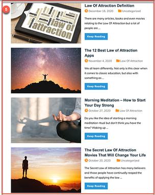 blog post list