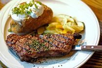steak and potatoe