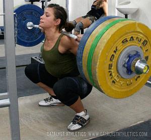 olympic squat high bar squat