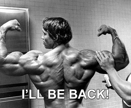 arnold schwarzenegger I'll be back