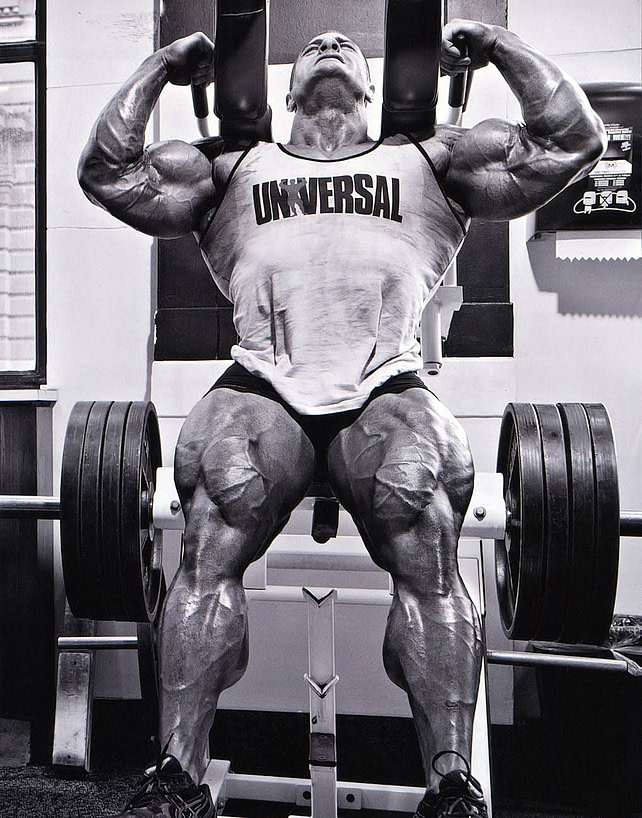 Evan Centopani has some massive quads.